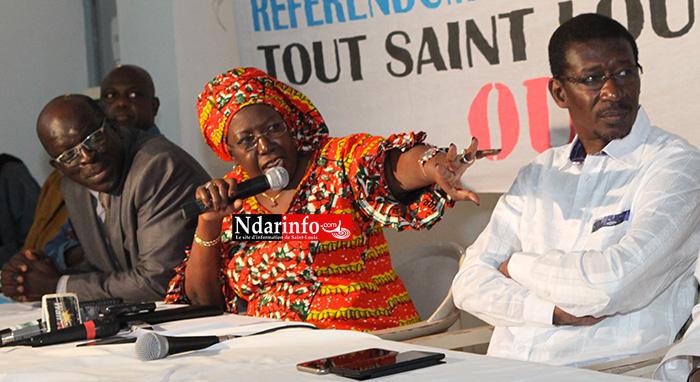 La contre-attaque  du « OUI »: « les partisans du  NON n'ont pas d'arguments solides sur le referendum », selon Mansour FAYE.