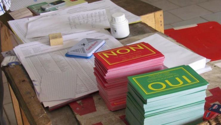 Saint-Louis: sur les 1363 inscrits, seuls 124 militaires et paramilitaires ont voté.