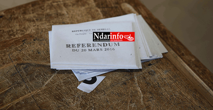 Incidents: Un mandataire du Oui détruit les bulletins de vote au bureau de Oumar Sarr