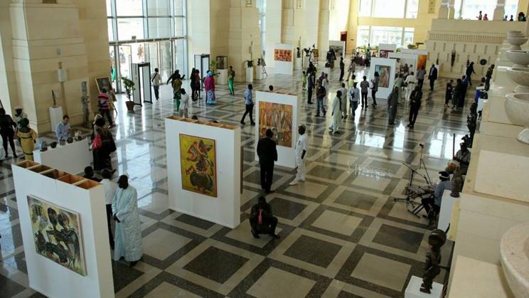 BIENNALE DE DAKAR : des expositions magistrales de l'artiste Saint-Louisien Abdoukarim FALL.