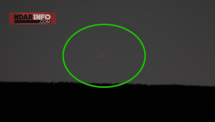 (Photos) Apparition du Croissant lunaire à Saint-Louis.