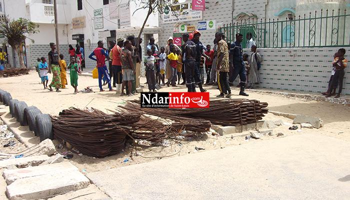 (Photos) Un serpent capturé à Goxu Mbacc crée la panique.