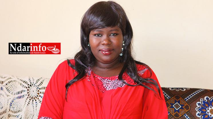 Mme THIAW Nafi DIALLO, président de l'association des personnes drépanocytaires de Saint-Louis