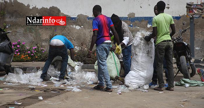 Saint-Louis : la grande leçon de civisme des marchands ambulants (photos)