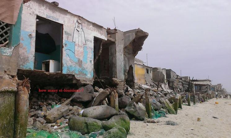 Guet-Ndar et la mer: les terribles images ...