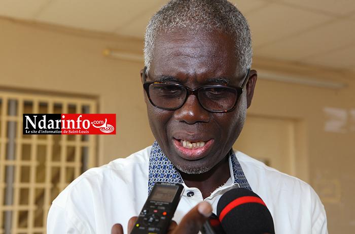 Le professeur Balaly SALL, coordonnateur du Carrefour d'Études et de Recherches-Action pour la Démocratie et le Développement (Ceradd)