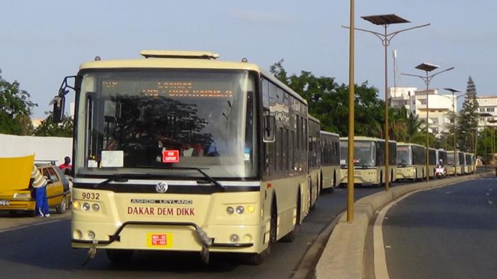 NOUVEAUX BUS : Sénégal Dem Dikk va desservir Saint-Louis.