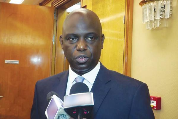 Signature de la convention de 100 millions d'euros (65 milliards FCFA) entre la BEI et l'Etat du Sénégal pour le projet KMS3 de la SONES