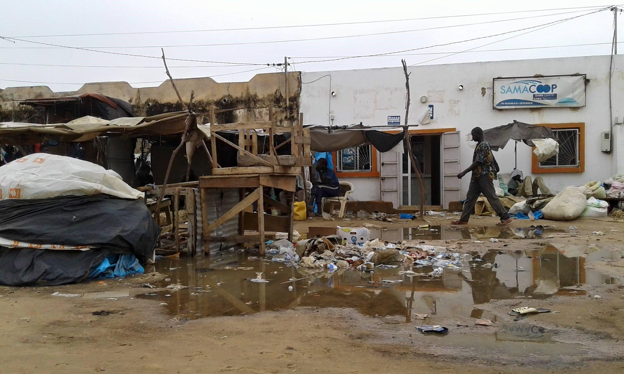 Inondations « chroniques » à Ross-Béthio : Mansour NDIAYE exprime sa compassion.