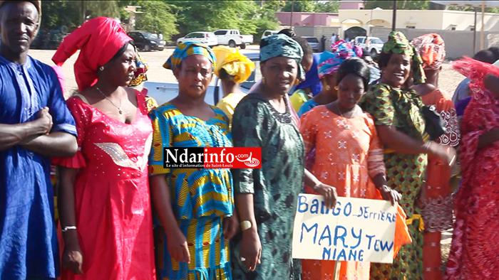 ( Vidéo) Macky à Saint-Louis : Mary Teuw NIANE mobilise ses troupes !