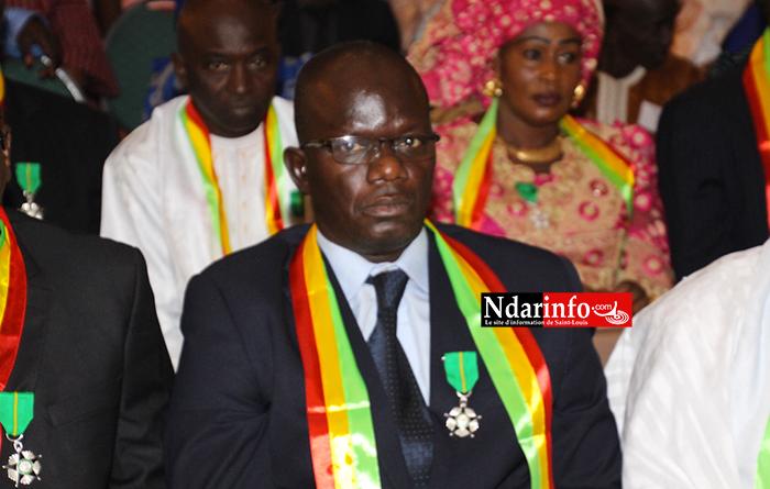 DÉCORATION : Ibrahima DIAO élevé au rang de Chevalier de l'ordre du Mérite (Photos)