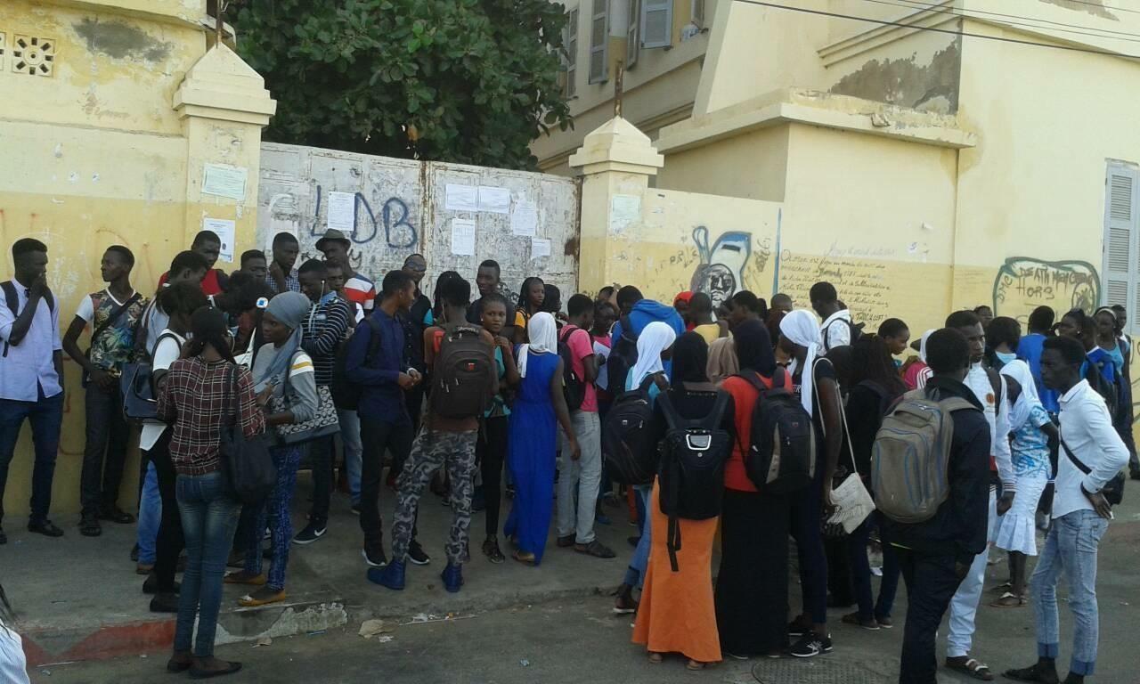 Urgent - Grève des élèves du lycée Oumar Foutiyou Tall