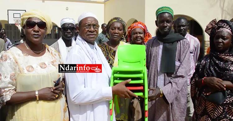 Après le saccage de Cheikh TOURE : la Commune replace 150 tables-bancs, équipe la maternelle (vidéo)