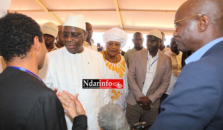NDIOUM : VALLAGRI étale son potentiel au Président Macky SALL.