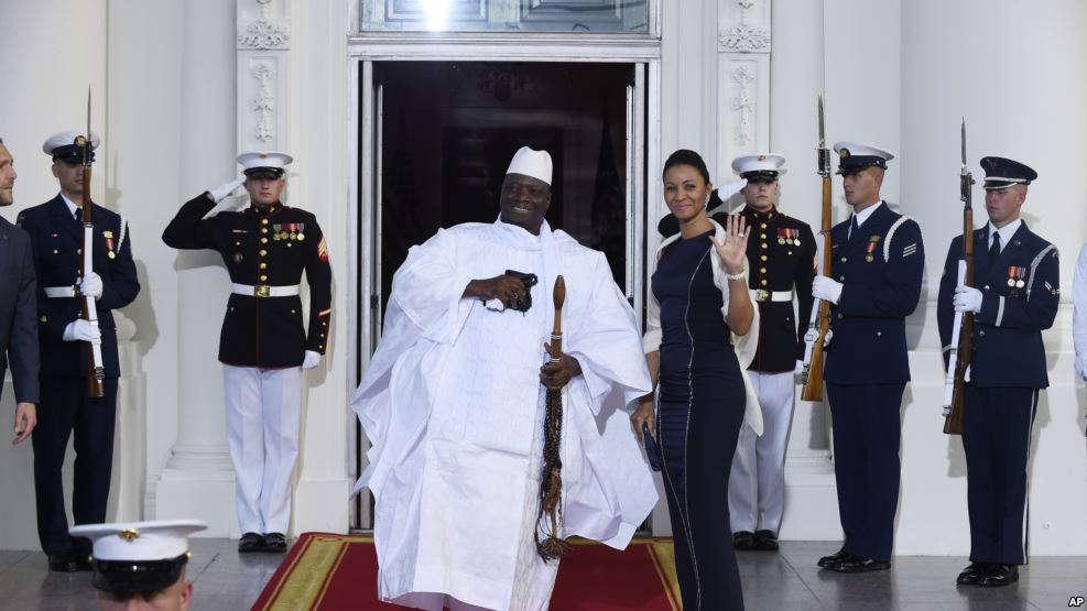 Le président sortant de la Gambie Yahya Jammeh. (Photo : 5 août 2014)