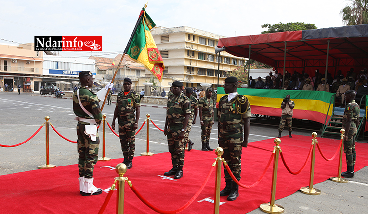 ARMÉES: le Colonel Mbaye CISSE, nouveau Commandant la Zone Nord, installé dans ses fonctions.