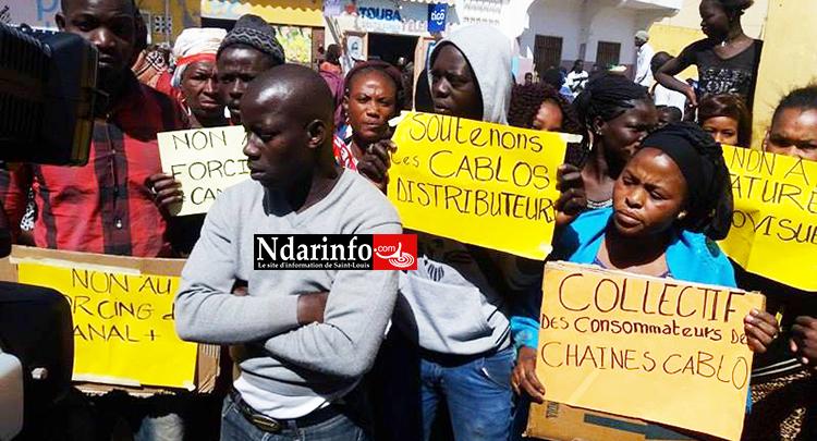Saint-Louis - Arrestation de Câblodistributeurs : des consommateurs en rage (vidéo)