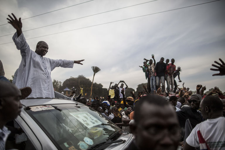 "Adama Barrow à Banjul : ""Le pire est terminé"""