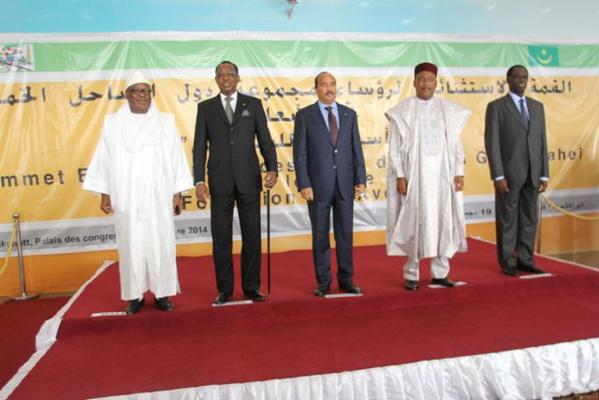 Terrorisme au Sahel : les Chefs d'Etat du G5 décidés à coordonner leurs actions