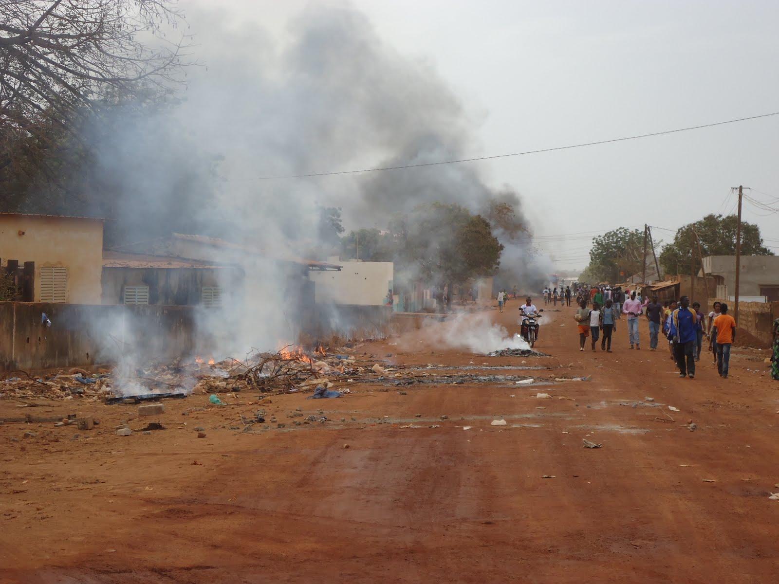 Tension vive à Saraya : mardi grave à Kédougou