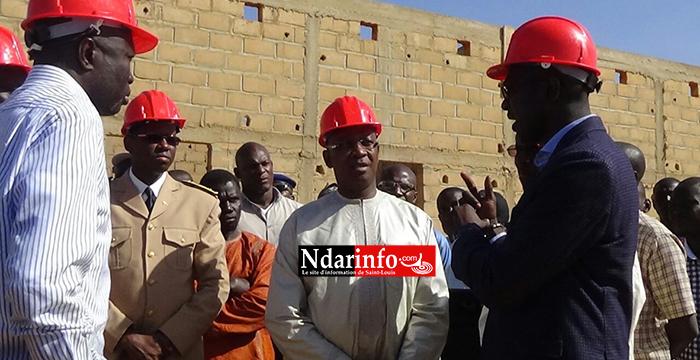 Saint-Louis : Serigne Mbaye THIAM visite les chantiers de l'éducation ( Photos )