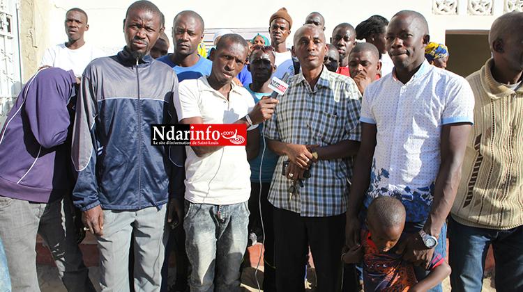 Point de presse de cablodistributeurs après une confiscation de leurs matériels par la gandarmerie. Source photo: Ndarinfo.com