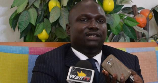 Le docteur Cheikh Thiara FALL en deuil