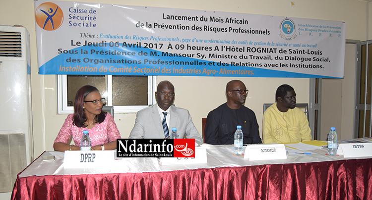 Mois africain de la prévention : Saint-Louis installe son comité sectoriel d'hygiène et de sécurité des industries agro-alimentaires