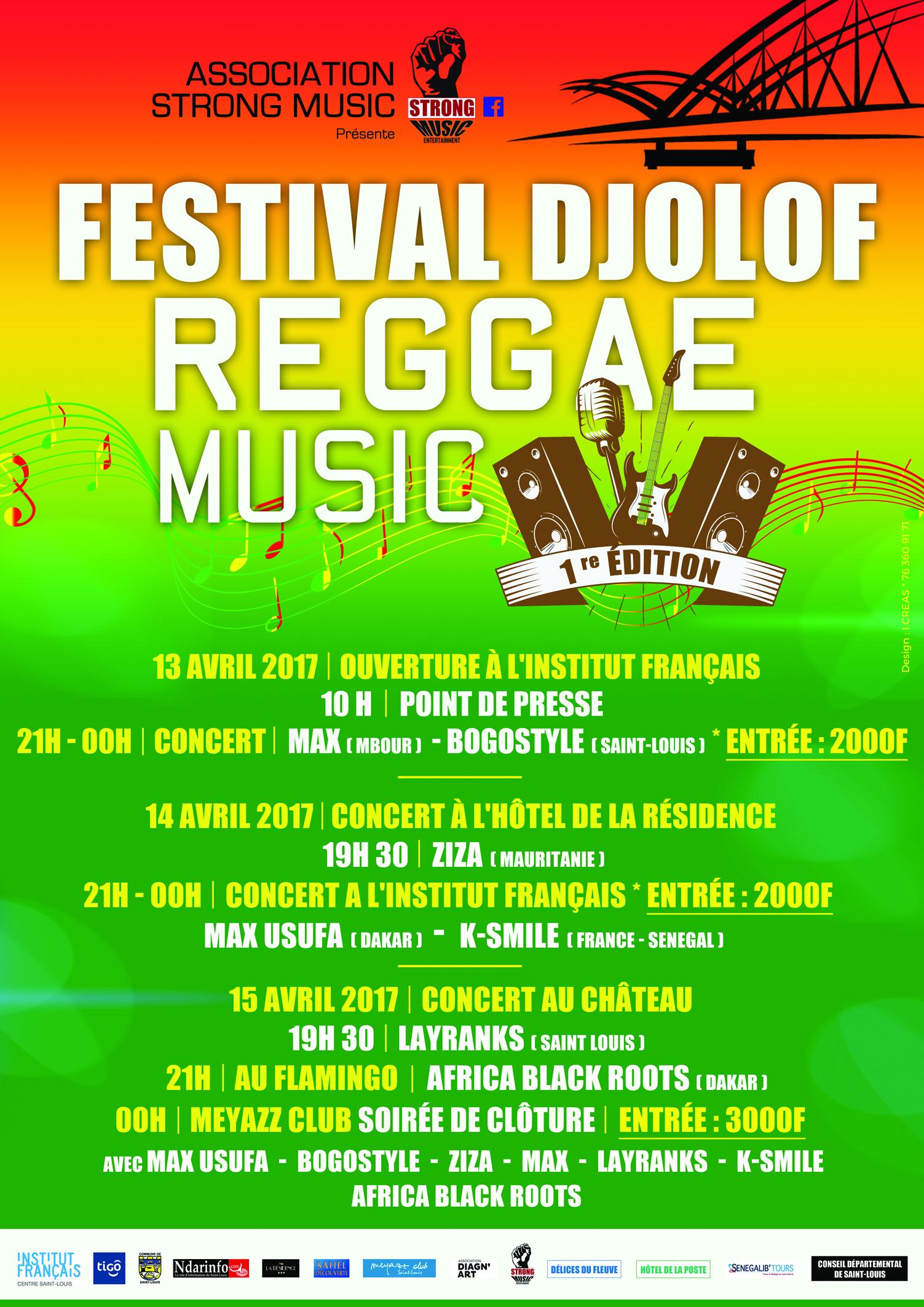 CULTURE : BOGOSTYLE lance la 1ere édition du Festival Djolof Reggae Music