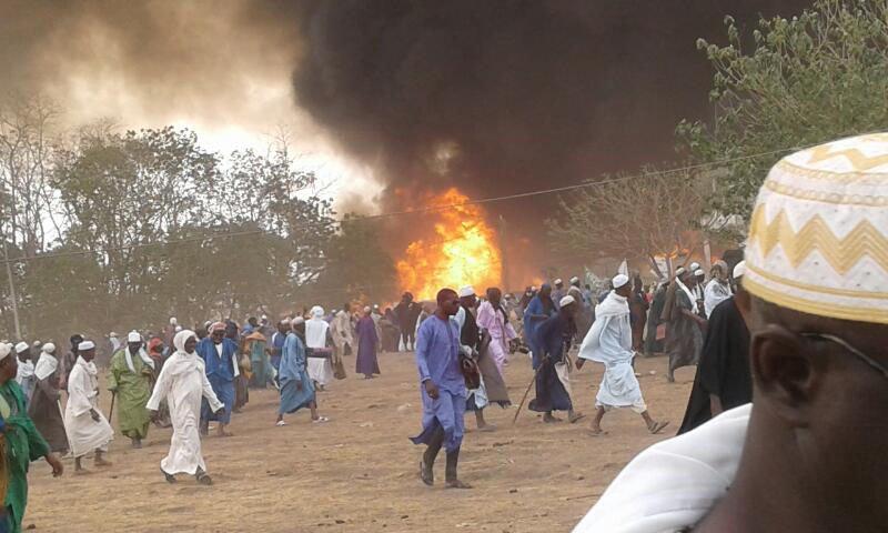 Violent incendie au Daaka de Médina Gounass : 9 morts, selon les Sapeurs