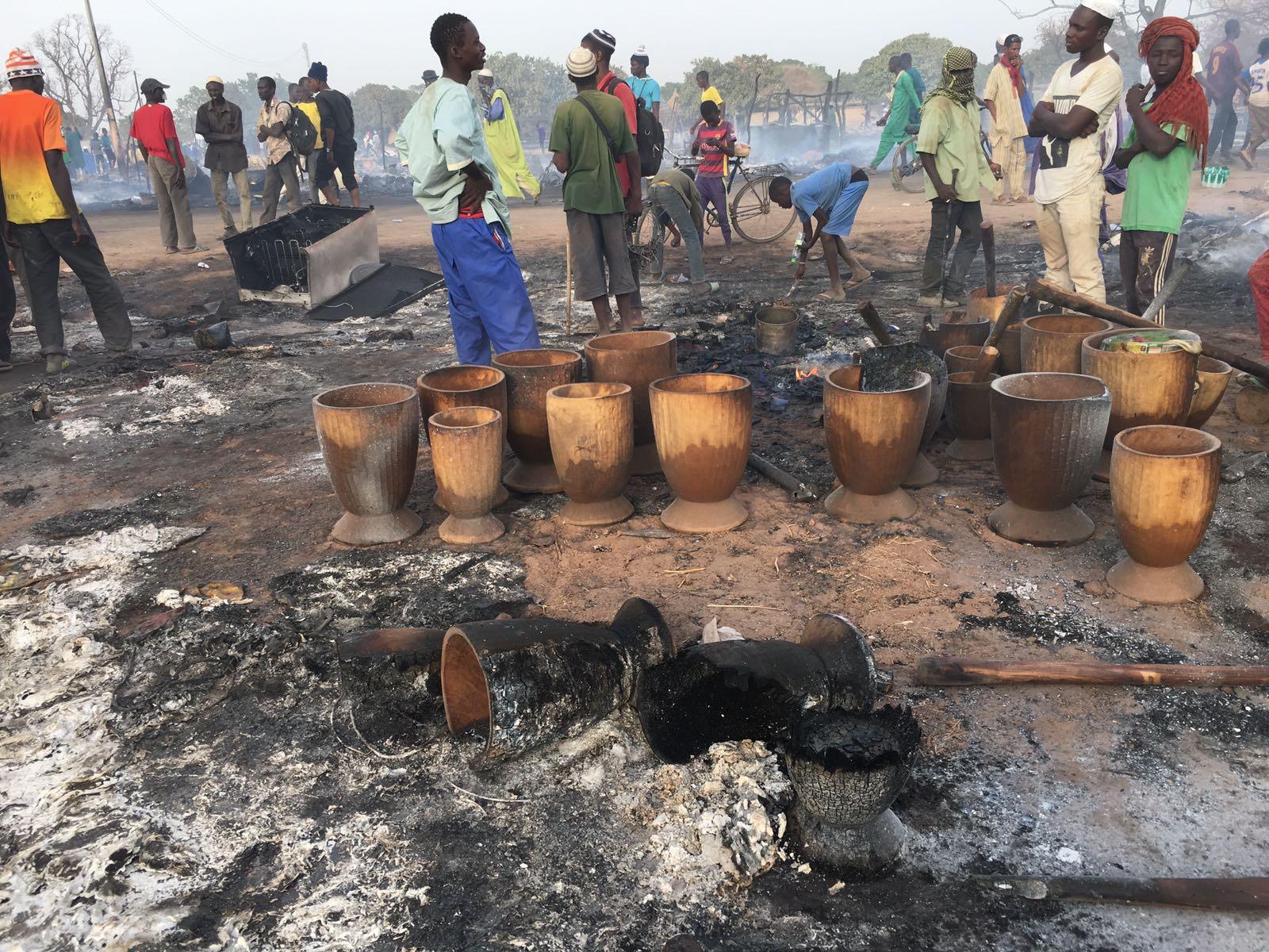 Incendie à Daaka : le bilan s'élève à 22 morts ( radio)