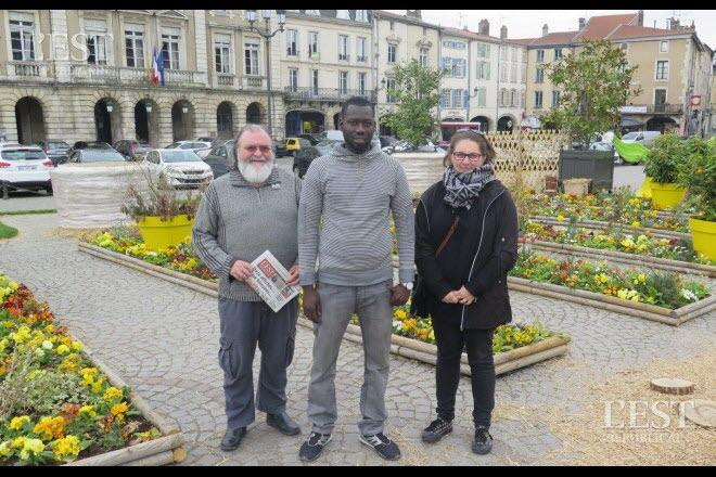 Solidarité internationale : Al Hassane Kebe de l'AVN rencontre les Mussipontains de Terre Africaine en France.