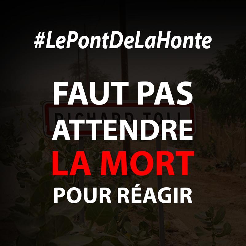 #LePontDeLaHonte : la nouvelle campagne de la jeunesse de Richard-TOLL
