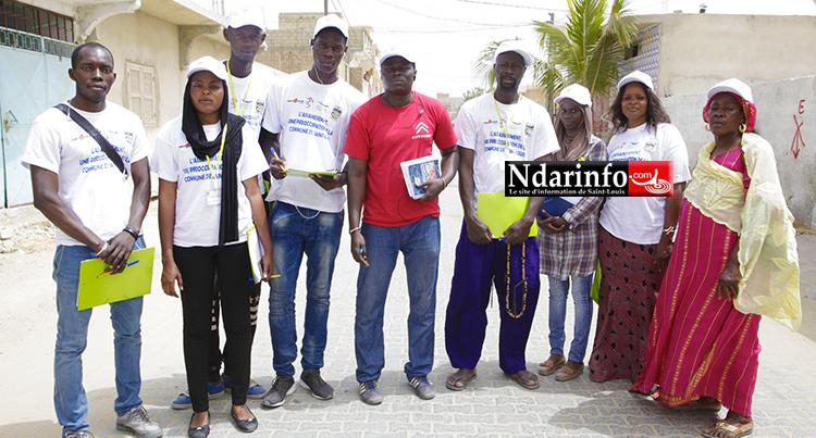 La mission à Ndiolofène Sud. Crédit photo: Ndarinfo.com