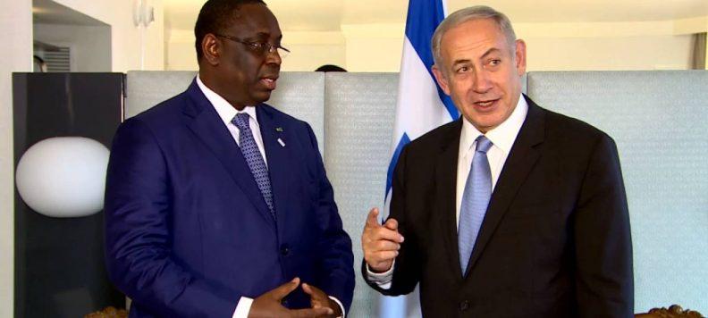 Urgent - Reprise des relations diplomatiques entre le Sénégal et l'Israël