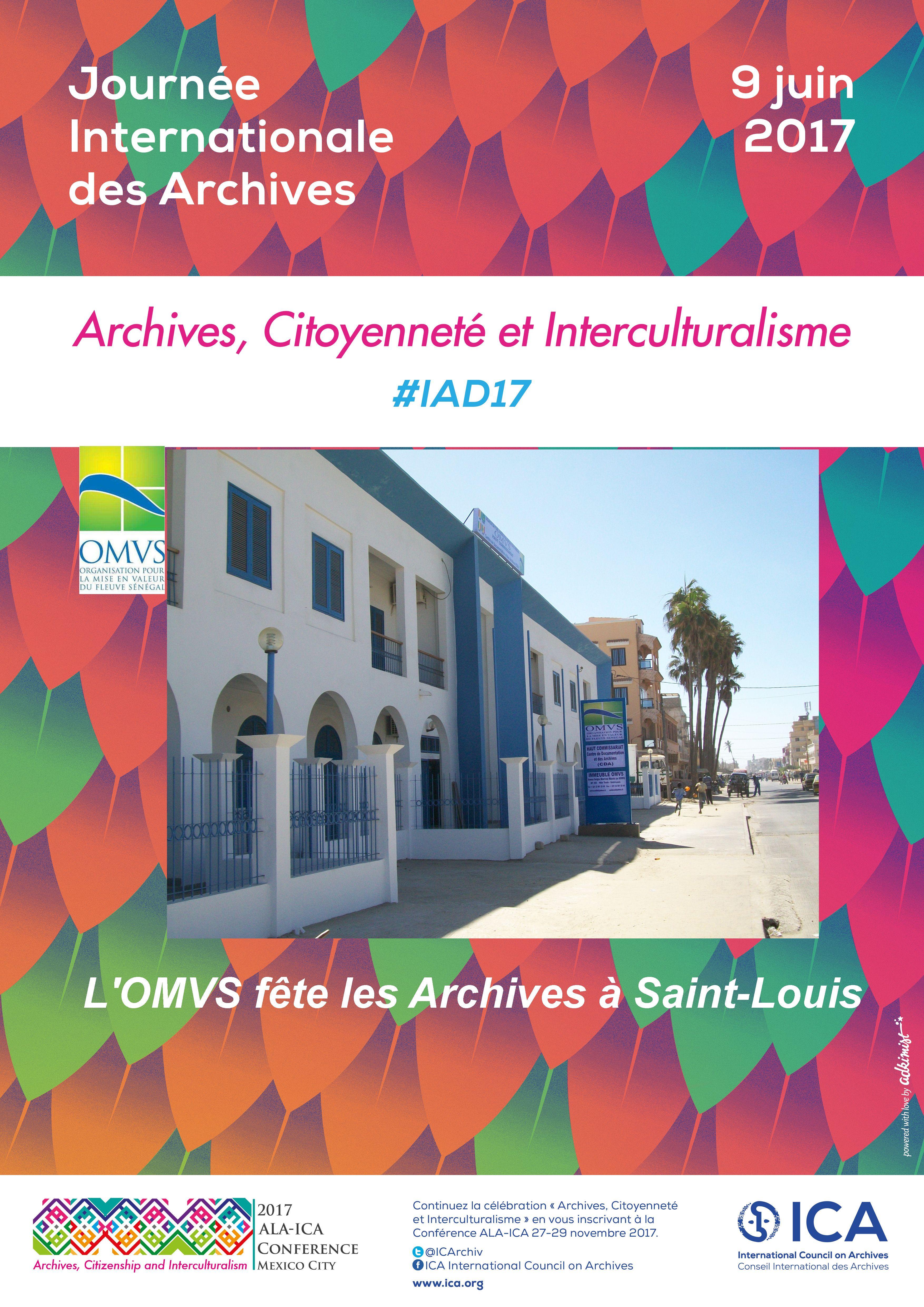 Saint-Louis fête les Archives, le 09 juin 2017