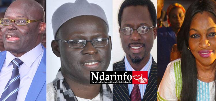 Bataille législative : Aminata GUEYE et Cheikh Bamba DIEYE en compétition sur la liste nationale. Braya et Docteur NDOYE affrontent le BBY local.