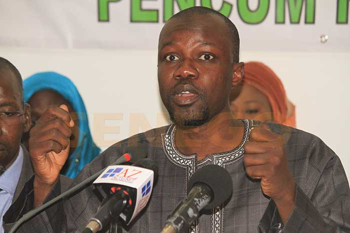 Ousmane Sonko réclame la réforme du code pétrolier qui date de 1998