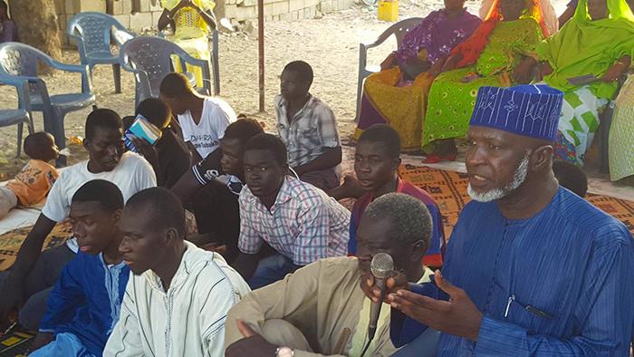 LÉONA : ferveur, recueillements et prières pour les morts du quartier