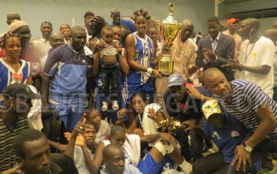 BASKET : les Saint Louisiennes sacrées championnes du Sénégal 2017 !