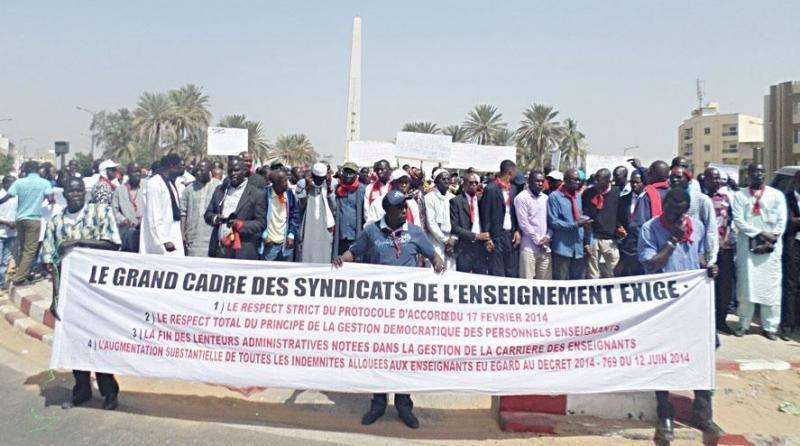 Non-respect des accords : Les enseignants sénégalais menacent de perturber l'année scolaire