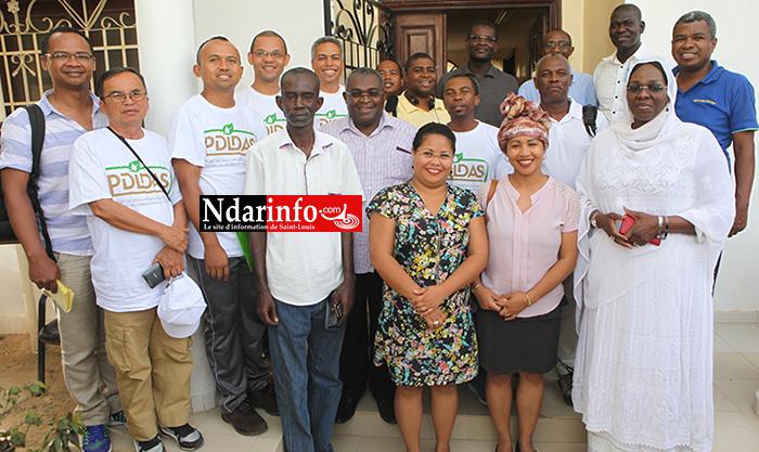 COOPÉRATION SUD-SUD : une délégation malgache s'imprègne des actions du PDIDAS.
