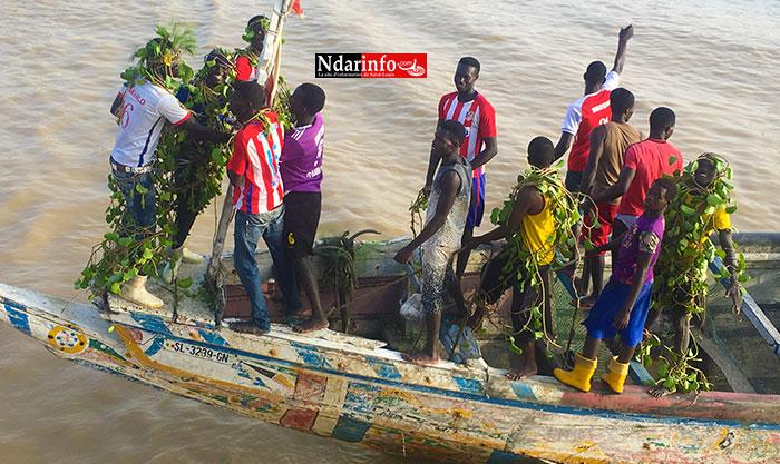 GUET-NDAR : le « Tajabone » en pirogues (vidéo)
