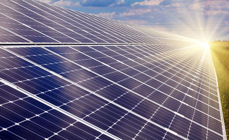 Une coopération d'énergie solaire pour ménage du département de Saint-Louis