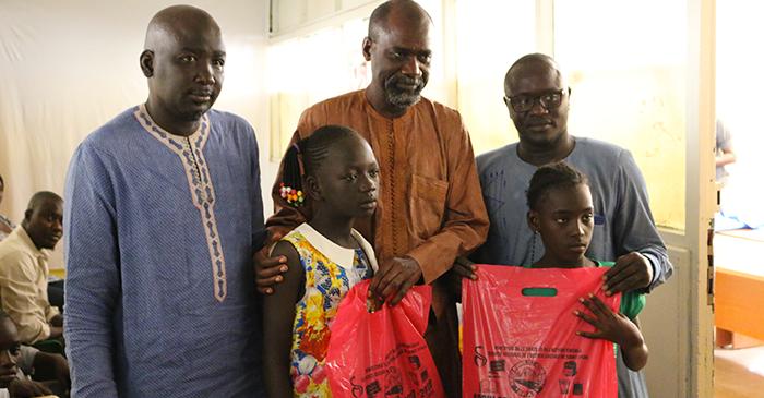 Saint-Louis : des kits scolaires offerts à 200 élèves de la Commune