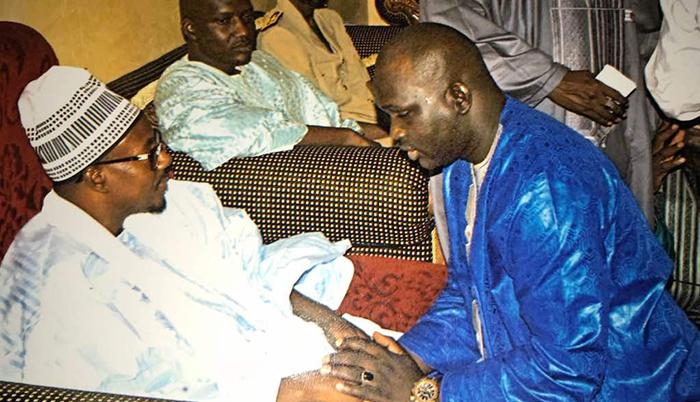 Préparatifs du Magal de TOUBA : Faly SECK reçu par Serigne Bass Abdou Khadre MBACKE.