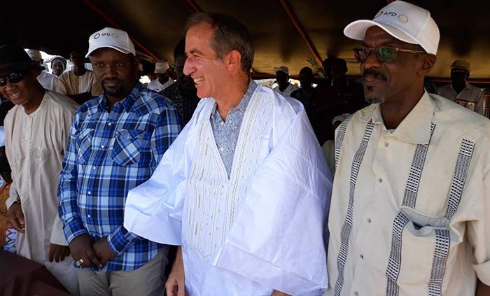 Visite de Christophe BIGOT dans la vallée : Samba Ndiobène KA magnifie les performances du 3PRD