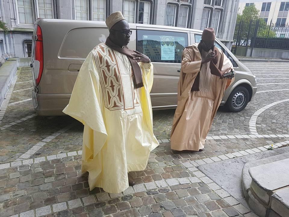 Tournée européenne : L'Imam Mouhammedou Abdoulaye CISSE à la province de Liège ( photos )