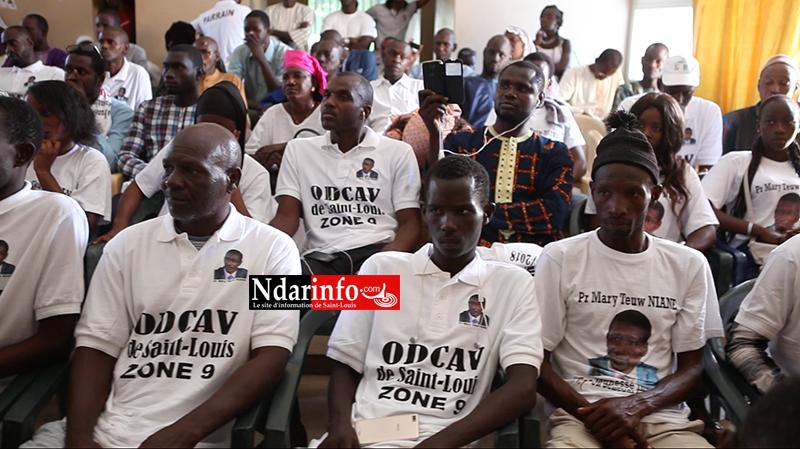Parrain des zones 4 et 9 de l'ODCAV, Mary Teuw NIANE obtient le satisfecit de la jeunesse (vidéo)