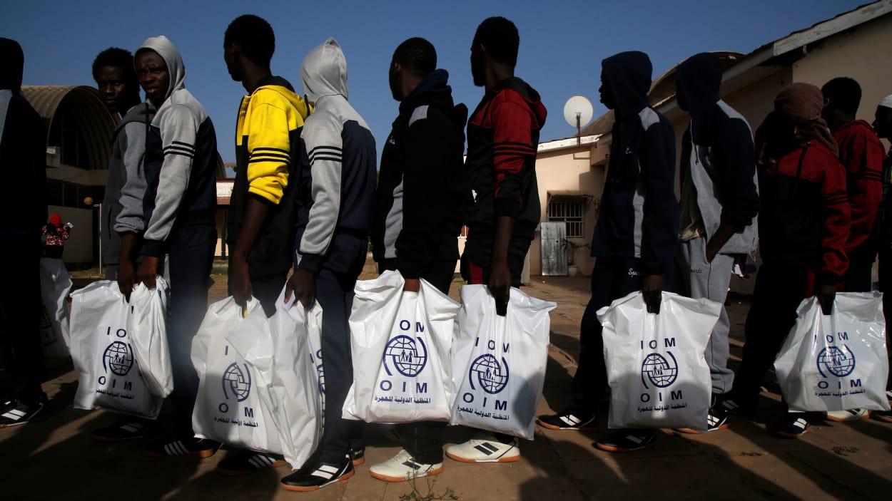 Un convoi de 163 Sénégalais rapatriés de la Libye